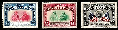 1945 Suez Canal Conference President Roosevelt & Hm Emperor Of Ethiopia Mint Sta