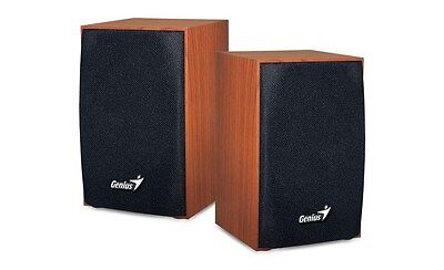 Genius SP-HF160 Speakers (Wood)