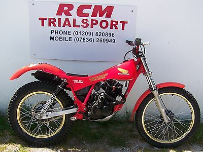 honda tlr 200 1984 twinshock trials bike great condition ready to ride