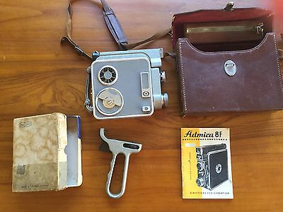 Vintage Admira 8F motion picture camera + extras
