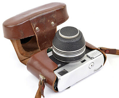 Zeiss WERRA 1 (black) mit Tessar 2,8/50 Carl Zeiss Jena + CASE ! TOP & CLEAN !!!