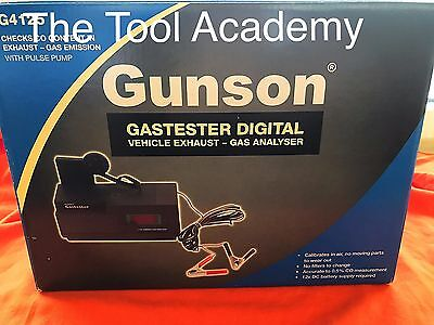 NEW! BOXED! Digital Gastester With PULSE PUMP Portable Petrol Air Mixture Test