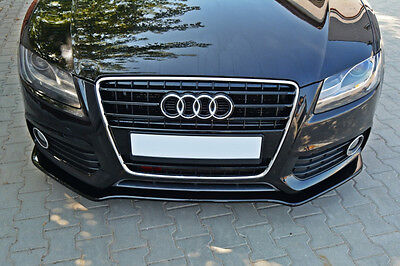 Performance Front Bumper Lip Audi S5 A5 Coupe spoiler Cup Chin Valance Splitter