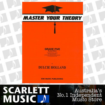 Master Your Theory - Grade 5 / Five Revised Edition - Dulcie Holland *NEW*