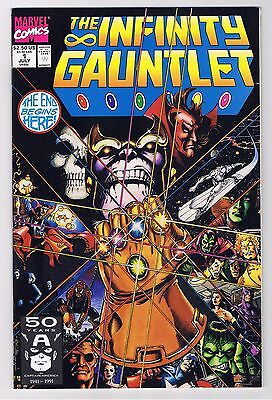 The Infinity Gauntlet #1, Marvel, July 1991 - NM