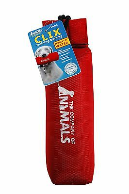 Clix Floating Dog Puppy Training Retriever Dummy Canvas With Throw String Uk