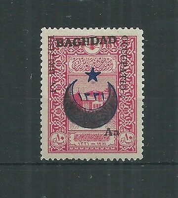 BAGHDAD 1917 1/2a ON 10pa SG 20 FRESH MLH