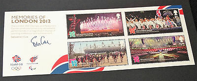 GB Miniature Mini Sheet MEMORIES OF LONDON 2012 - MNH