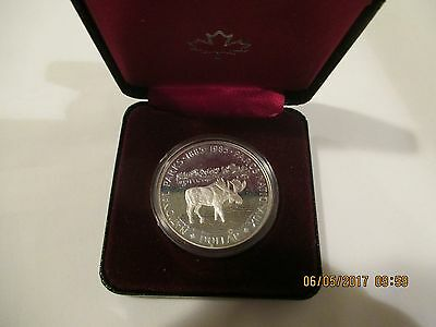 """Canadian Silver Dollar """"1985 National Parks Of Canada"""""""