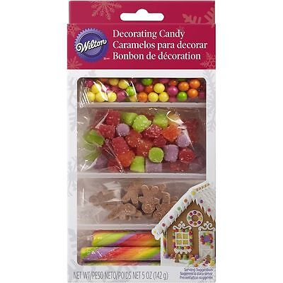 Wilton Gingerbread House Decorations - Bright