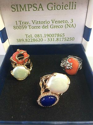 anelli in argento con pietre verie   Silver rings with rocks