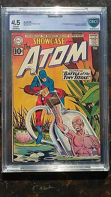 Showcase # 34 - CBCS 4.5 Cream/Off-White Pages - First SA Atom