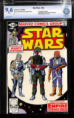 Star Wars # 42 CBCS 9.6 - First appearance Boba Fett!