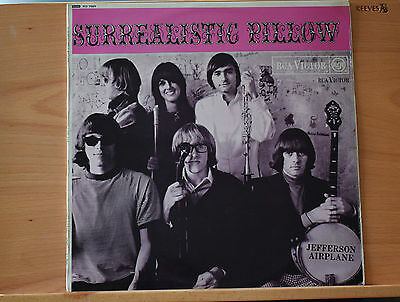Jefferson Airplane - Surrealistic Pillow LP RD 7889 MONO