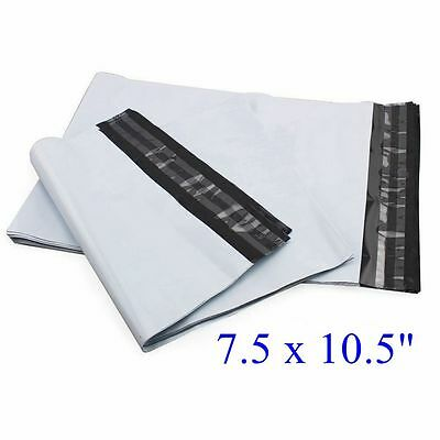 "1000 pcs 7.5 x 10.5"" Poly Mailer Envelope Plastic Mailing Bags,  2.35mil"