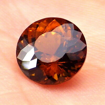 GENUINE MALI GARNET 2.15 Ct CLARITY VVS2-NATURAL CINNAMON ORANGE COLOR-VERY RARE
