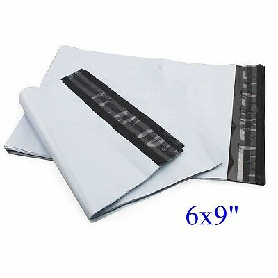 "1000 pcs 6x9"" Poly Mailer Shipping Envelope Plastic Bags, 2.35mil"