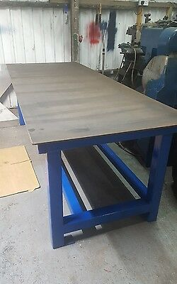 Solid Steel Workbench Welding bench Marking out table (Made to order)