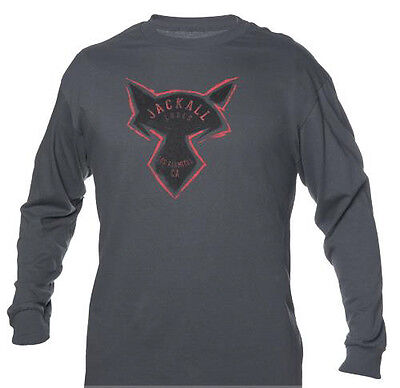 JACKALL CHARCOAL LONG SLEEVE TEE SHIRTS select sizes
