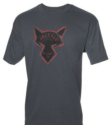 JACKALL CHARCOAL SHORT SLEEVE TEE SHIRTS select sizes