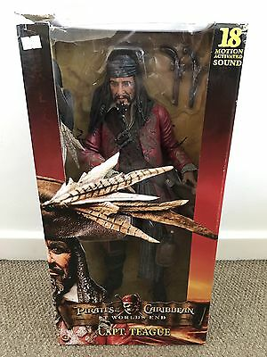 "18"" Captain Teague From Pirates Of The Caribbean At Worlds End Figure"