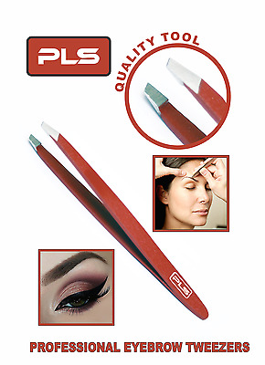 Pincée a Epiler - Professional Stainless Steel Slanted Tip Tweezer For Eyebrows