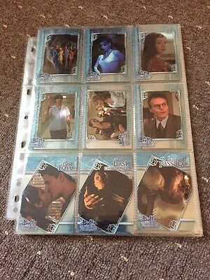 Buffy Evolution  Complete Base Set (limited Release) Btvs Trading Cards Rare