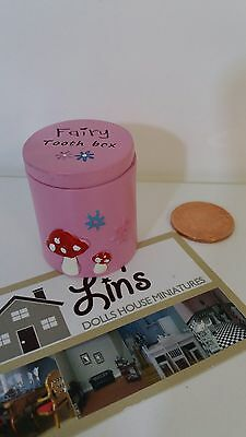 Fairy Friendship Tooth Box Pink NEW
