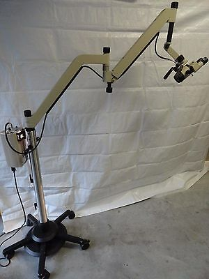 Global Entree Ent Surgical Operating Microscope  250Mm Objective Straight Bino