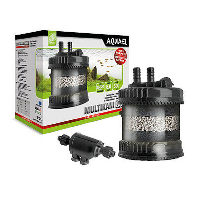 Aquael Multikani 800 Advanced External Aquarium Tropical Fish Tank Filter Pump
