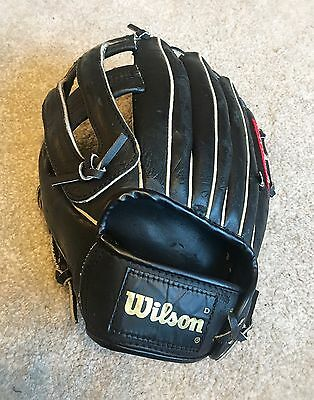"Wilson A2276 10"" Baseball Softball Glove -Genuine Leather Autograph Model -youth"