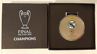 UEFA Champions League Medal Madrid Champions Milan Italy 2016 11th Cup