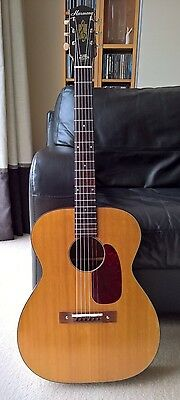 Vintage Harmony H162 acoustic guitar, solid tonewoods, restored