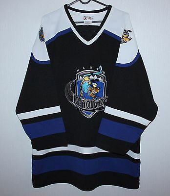 Disney Pluto Ice Hounds Hockey shirt jersey K9 Size L
