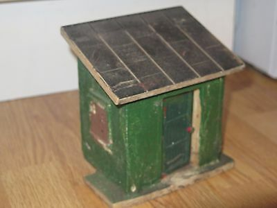 Pola G Scale Building (Out House) Ready for Repaint or already Weathered
