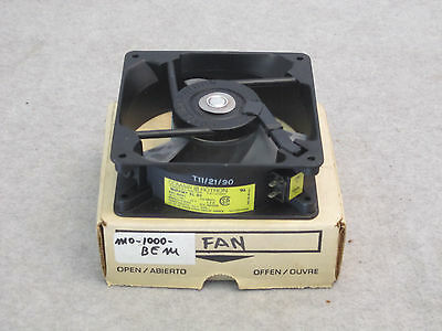 "Comair Rotron Muffin-XL DC Cooling Fan MD48B2 4-1/2"" NOS, 48VDC .12A 5.8W"