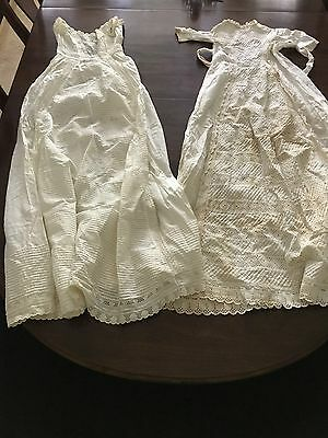 2 Antique Christening Gowns