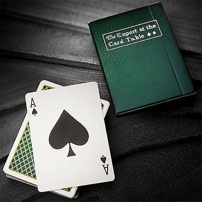 The expert at the card table green playing cards deck brand new sealed