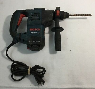 """Bosch Tools 1-1/8"""" SDS-Plus Rotary Hammer Drill RH328VC Great Working Condition!"""