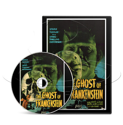 The Ghost of Frankenstein (1942) Sci-Fi, Horror, Drama Movie / Film on DVD
