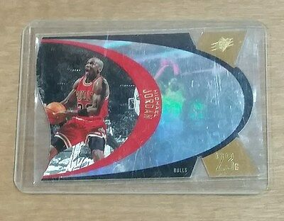 1997 Upper Deck SPX Gold - Michael Jordan #5 Die Cut Trading Card