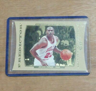1996-97 Upper Deck Predictor - #P3 Michael Jordan Die Cut Trading Card