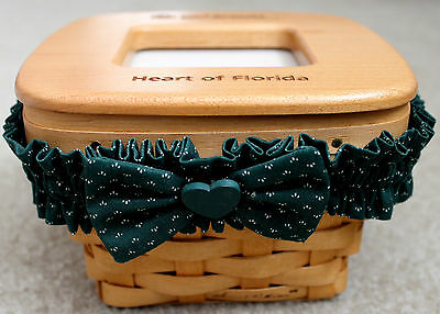 Girl Scout Keepsake Basket 2004 Berlin Fruit Box Co Samuel Patterson Photo Frame