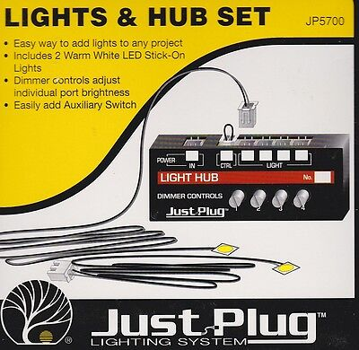 Woodland Lights & Hub Set - Model Train HO/OO/N ALL SCALES lighting JP5700