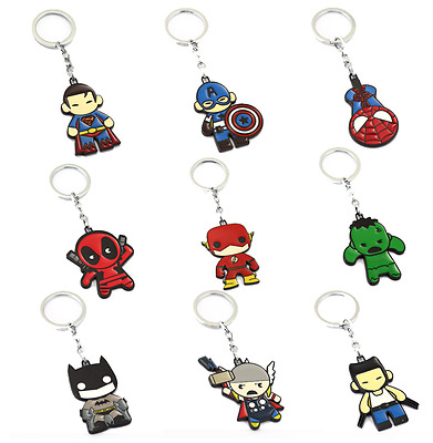 Fidget Spinner Superhero Keychains Avengers Spiderman Ironman Massive Collection