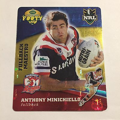 NRL Tazo Sydney Roosters Anthony Minichiello