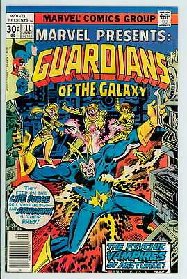 Marvel Presents #11 1977 NM Early Guardians of the Galaxy – Starhawk Cover