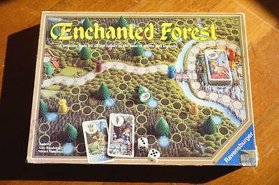 1982 RAVENSBURGER Enchanted Forest Board Game! FREE Shipping in AU