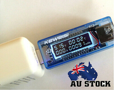 USB Current Voltage Charging Detector Mobile Power Current and Voltmeter - ADV