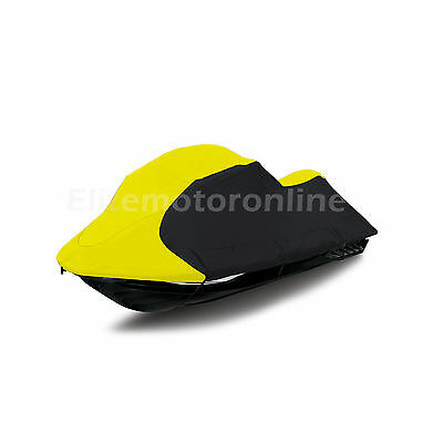 Sea Doo Jet Ski GTI No Mirrors Towable JetSki PWC Cover 2006- 08 Yellow/blk